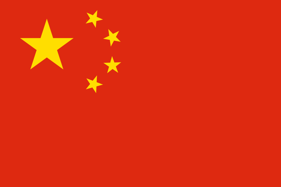 Unsere Partner, China, Shanghai, Flagge